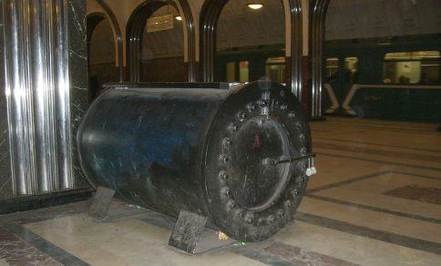 moskau metro platz fuer unbekannte gepaecksstuecke